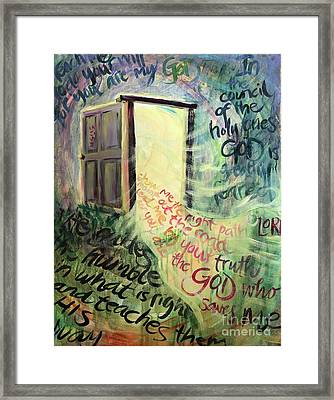 Powerful Truth Framed Print