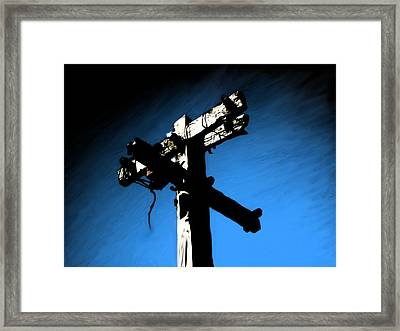Powerless Framed Print by Jeff DOttavio