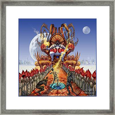 Powerless To Power Framed Print
