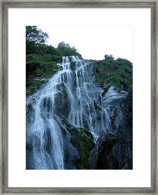 Powers Court Waterfall Framed Print