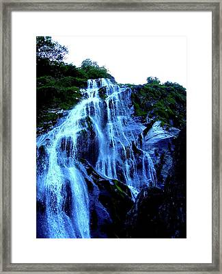 Powers Court Waterfall Version 2 Framed Print