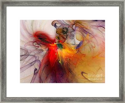 Powers Of Expression Framed Print by Karin Kuhlmann