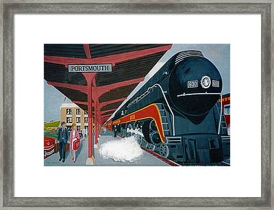 Powhattan Arrow At Portsmouth Framed Print by Frank Hunter