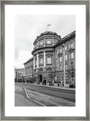 Poznan University Of Medical Sciences Framed Print