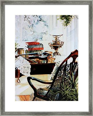 Practice Makes Perfect Framed Print by Hanne Lore Koehler