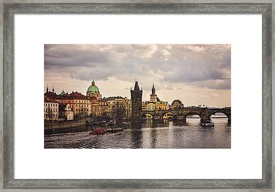 Prague 1 Framed Print by Heather Applegate