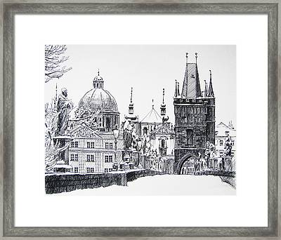 Prague Framed Print by Angelina Sofronova