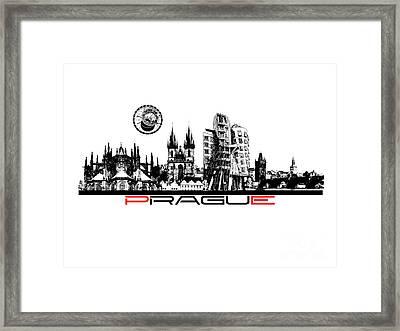 Prague Art Framed Print