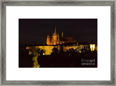 Prague Castle And St. Vitus Framed Print