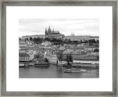 Prague Castle Framed Print by Keiko Richter