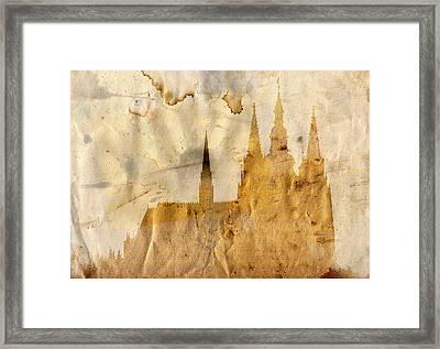 Prague Castle Framed Print by Michal Boubin