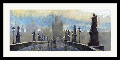 Charles Bridge Framed Prints