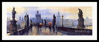 Europe Framed Prints