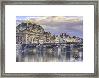 Prague, Czech Republic Framed Print by Juli Scalzi