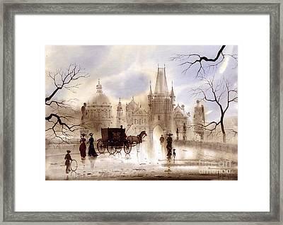 Prague IIi Framed Print