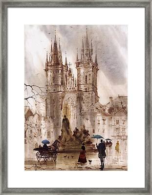 Prague Iv Framed Print
