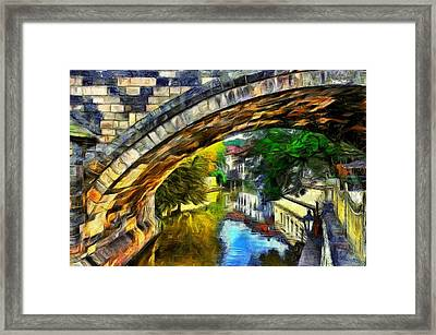 Prague Framed Print by Jean-Marc Lacombe