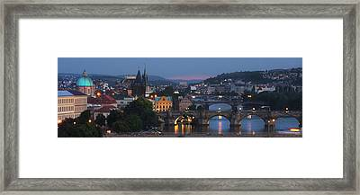 Prague - Most Beautiful City In The World Framed Print
