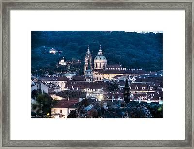 Prague Old City Framed Print