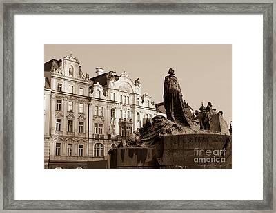 Prague - Old Town Square Framed Print by Giuseppe Mauro Panzani