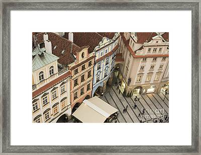Prague. Old Town Square Framed Print by Juli Scalzi