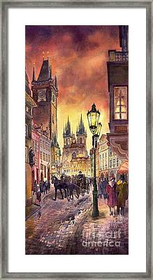 Prague Old Town Squere Framed Print by Yuriy  Shevchuk