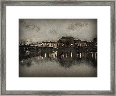 Prague Opera House Framed Print