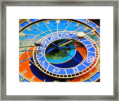 Prague Orloj Framed Print by Andreas Thust