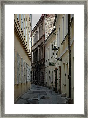 Framed Print featuring the photograph Prague by Steven Richman