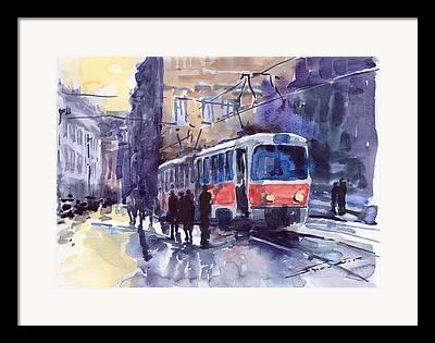 Transport Paintings Framed Prints