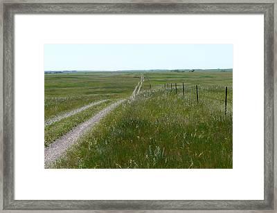 Prairie Framed Print by Ellen  Leigh