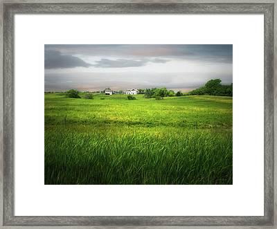 Prairie Farm Framed Print