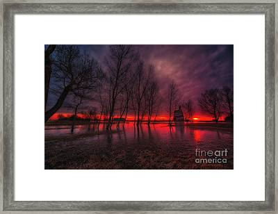Prairie Glory Framed Print by Ian McGregor