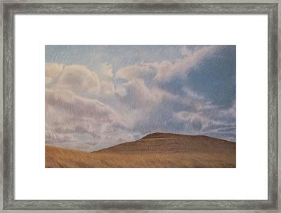 Prairie Hill Framed Print