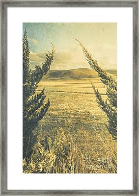 Prairie Hill Framed Print