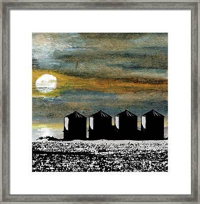 Prairie Icons Framed Print