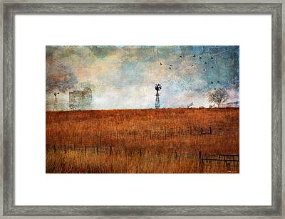 Prairie Past Framed Print
