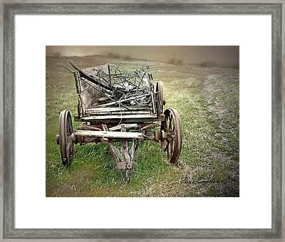 Prairie Ruins Framed Print