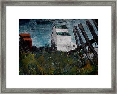 Prairie Scene Framed Print by John Turner