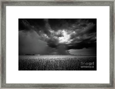 Prairie Storm I Framed Print