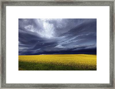 Prairie Storm Framed Print