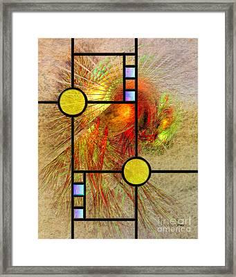 Prairie View Framed Print