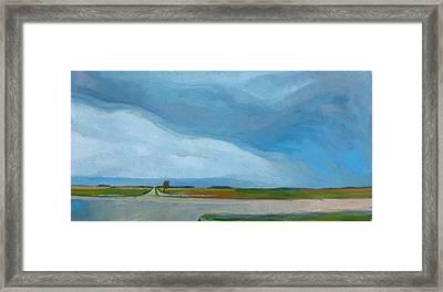 Prairie Weather Framed Print