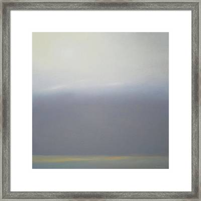 Prairie Winter Sold Framed Print