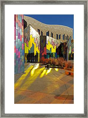 Prairiefire Windows Framed Print