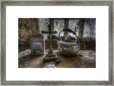 Praise Be To Tea  Framed Print by Nathan Wright