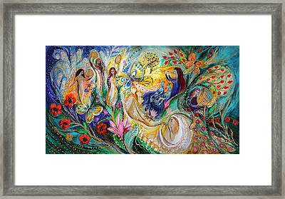 Praise Him With The Timbrel And Dance Framed Print