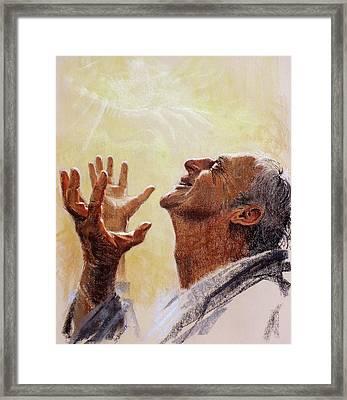 Praise. I Will Praise Him  Framed Print