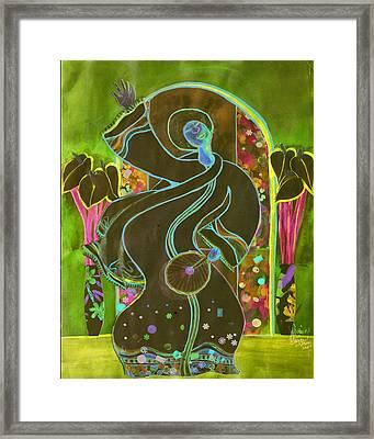 Praise Framed Print by Joyce Miles