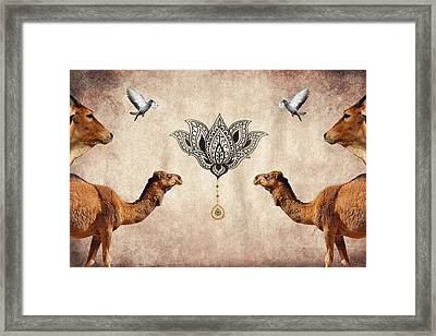 Praise The Lord Series 4 Framed Print by Sumit Mehndiratta